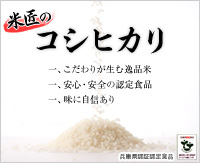 匠の逸品 特別栽培米 コシヒカリ(減農薬米)